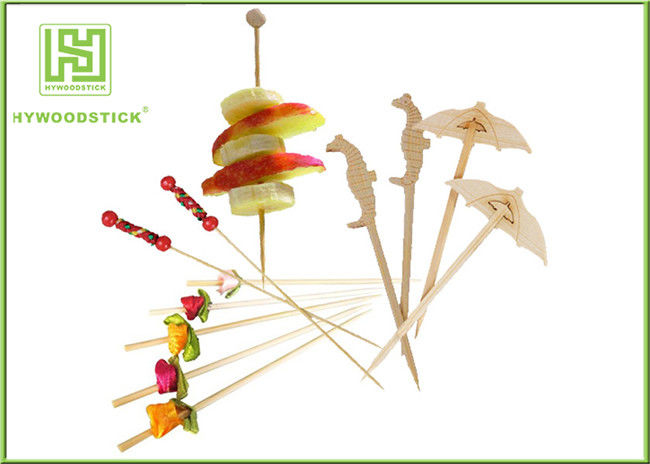 Extra Long Decorative Food Toothpicks For Appetizers Party Toothpicks Skewers