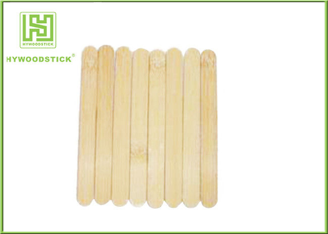 Natural Smell Tongue Depressors Round Edge , White Birch Padded Tongue Depressor