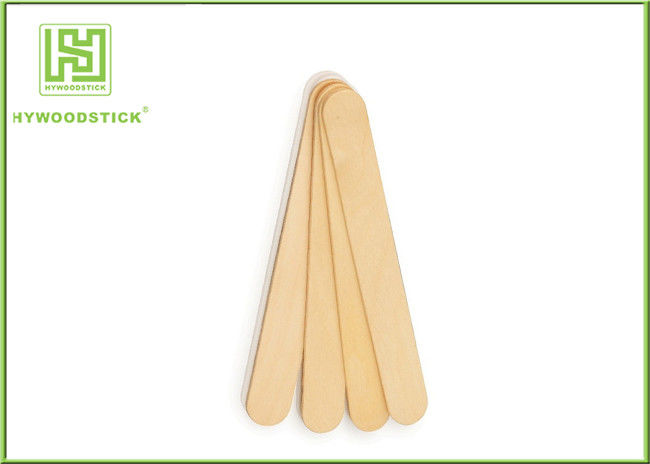 Long Wooden Tongue Depressor Sterile 150mm Adult Medical Lab Spoon Spatula