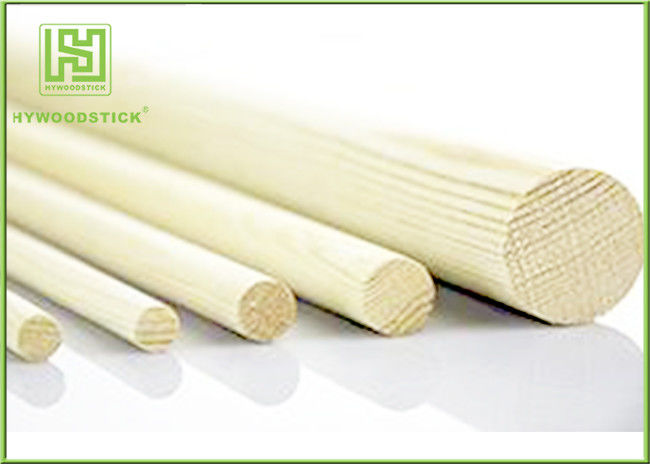 Durable Small Natural Wood Sticks Smooth Surface With Different Size