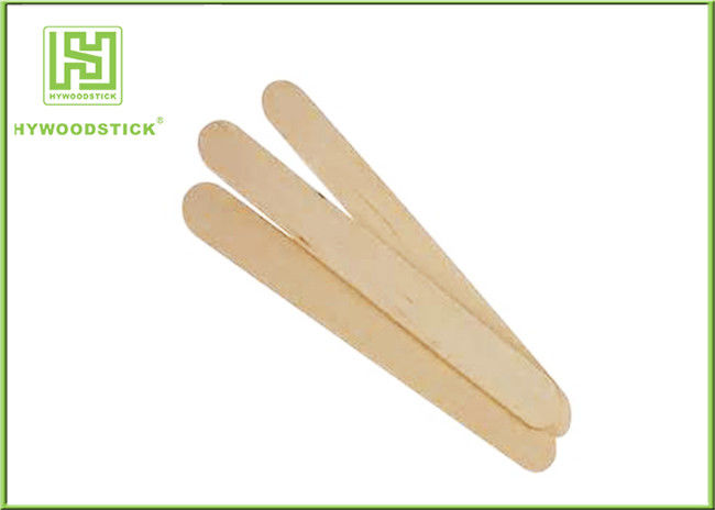 Healthy Sterile Facial Spatula Wax Applicator Sticks For Hair Removal OEM Package